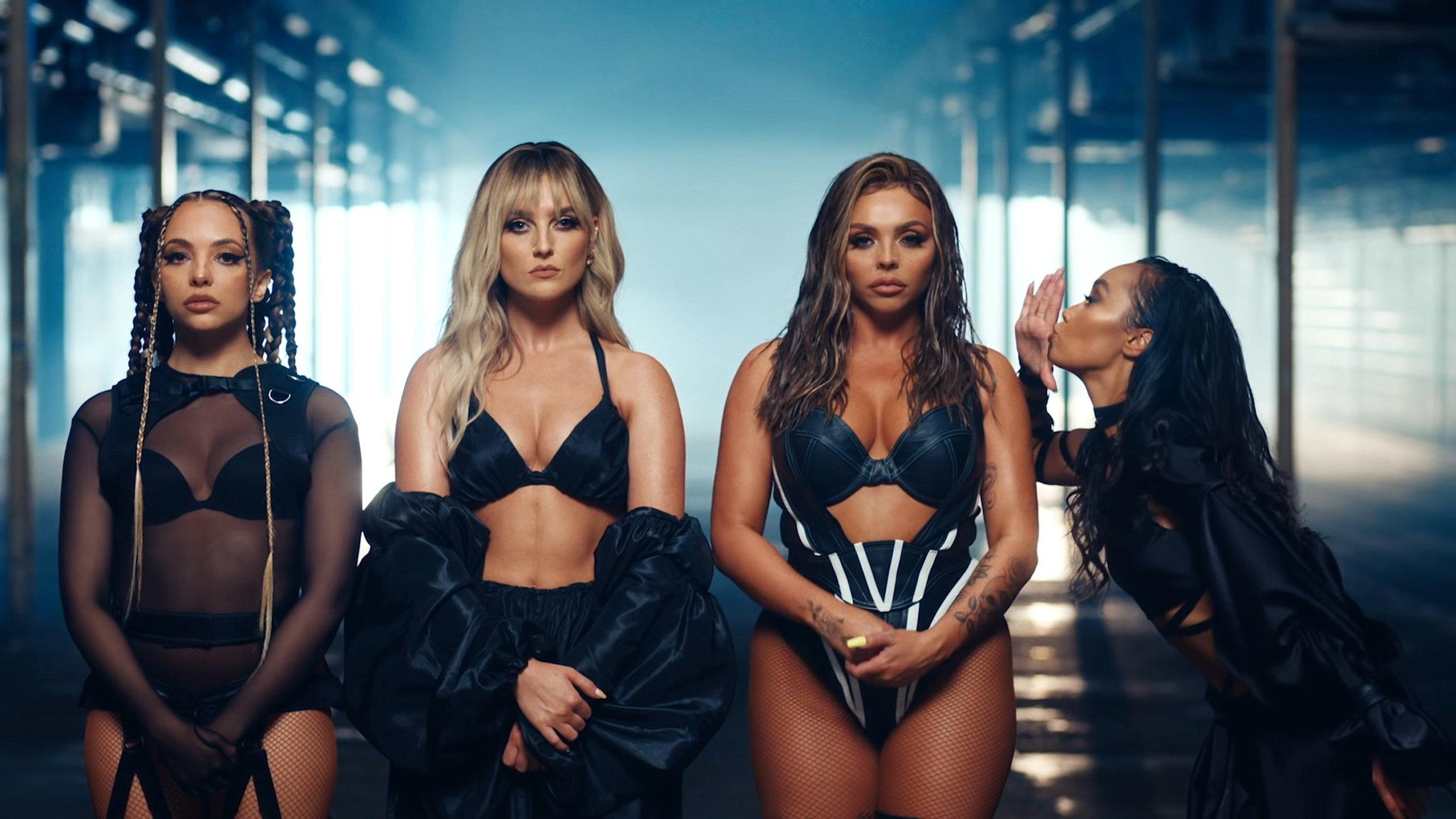 Little Mix - Sweet Melody (Official Video) 2-24 Screenshot